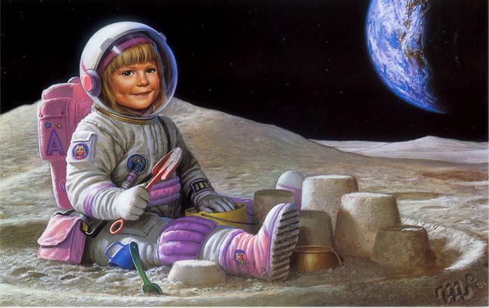 Мелодійні вірші на День космонавтики