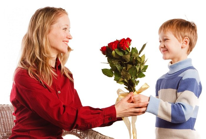 Привітання з Днем народження мамі від сина