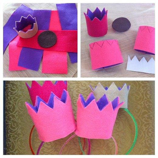 Міні-корона для новорічної принцеси