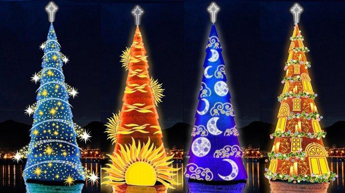 Головні новорічні ялинки світу. Найкрасивіші різдвяні ялинки, фото 7