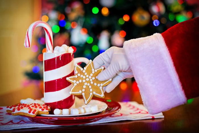 Рождественские карамельные конфеты