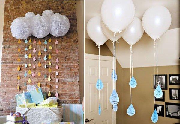 Как украсить комнату на 1 год своими руками