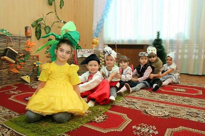 Сценарій осіннього балу для дитячого садка, фото 7