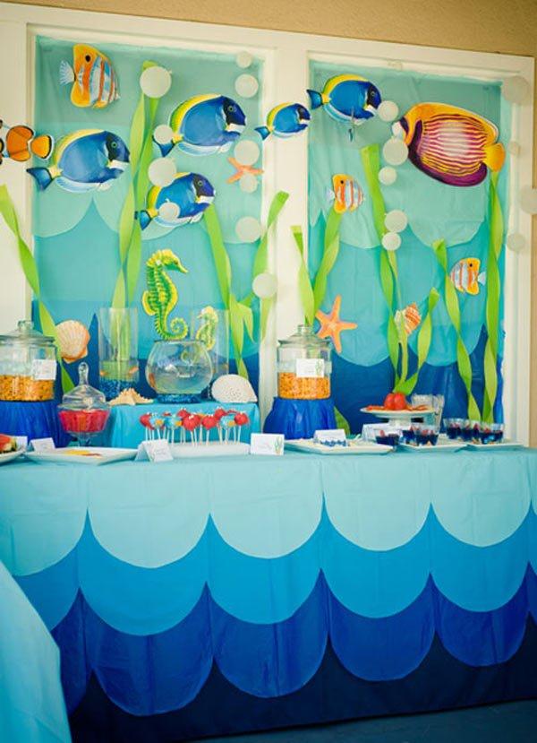 Дитячий День народження дома, прикрашаємо стіни та вікна