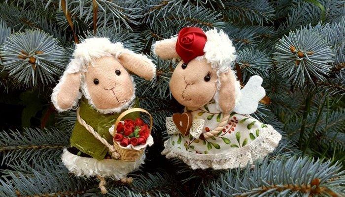 Привітання з Новим роком у віршах дружині