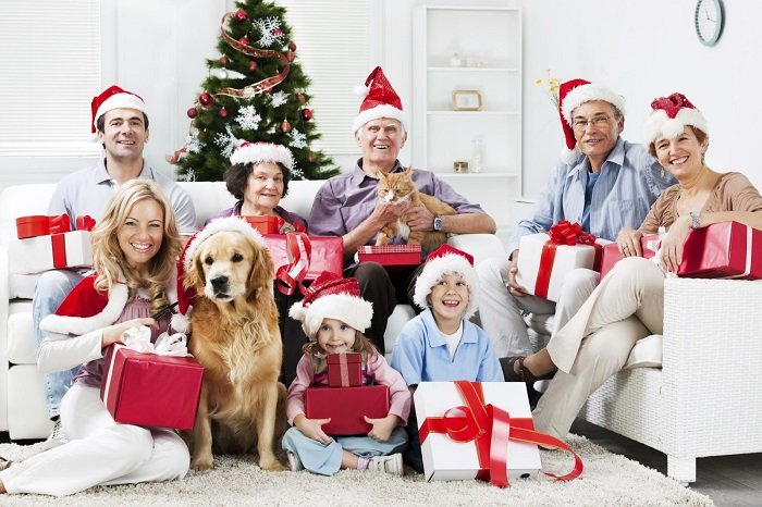 Привітання з Новим роком у віршах дідуся і бабусі