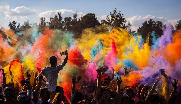 Холи — впечатляющий фестиваль красок в Индии, фото 2