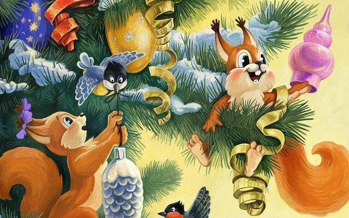 Новогодние стихи для Дедушки Мороза на украинском языке
