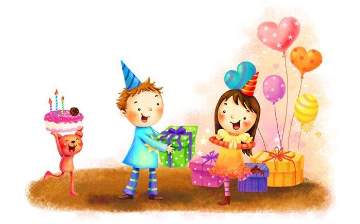 Привітання з Днем народження на російській мові