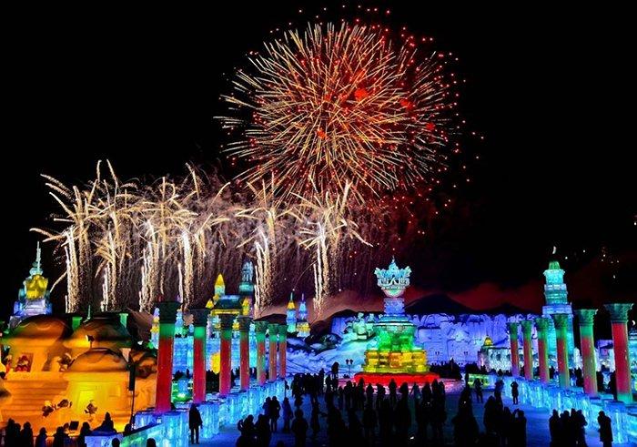 Фестиваль снега и льда в Харбине, фото 1