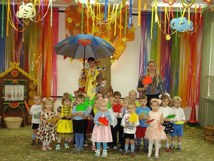 Сценарій осіннього балу для дитячого садка, фото 10