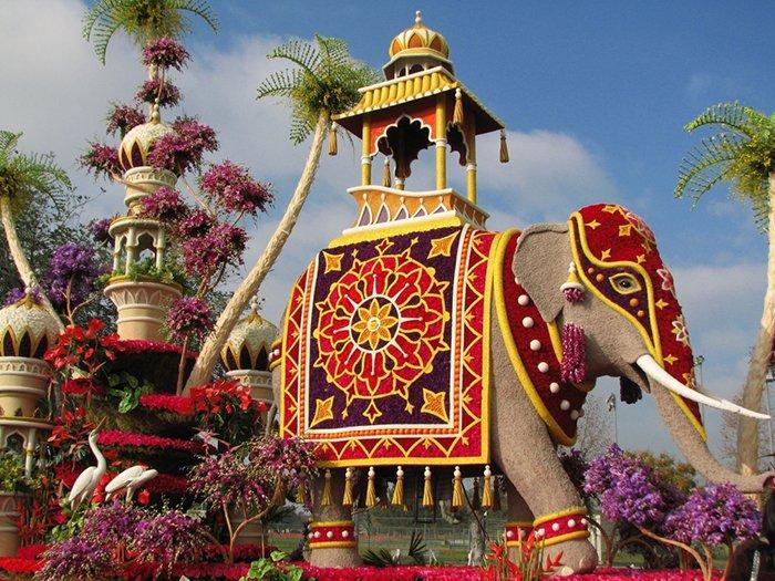 Фестиваль цветов в Таиланде, фото 1