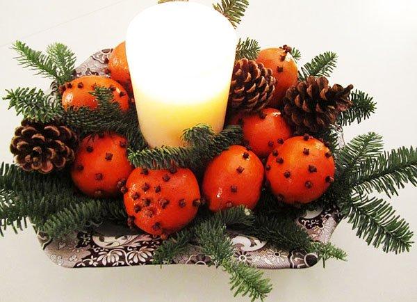 Як прикрасити новорічний стіл, фото 1