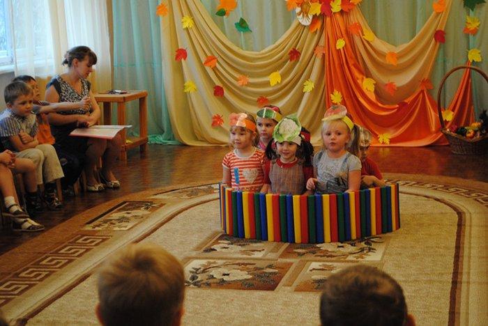 Сценарій осіннього балу для дитячого садка, фото 5