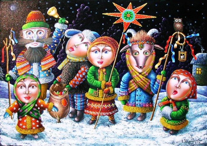 Посевалки на Новый год