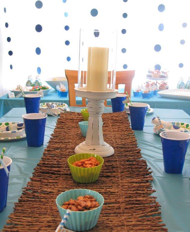 Дитячий День народження дома, прикрашаємо стіл