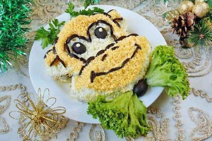Готовим новогодние блюда для года Обезьяны