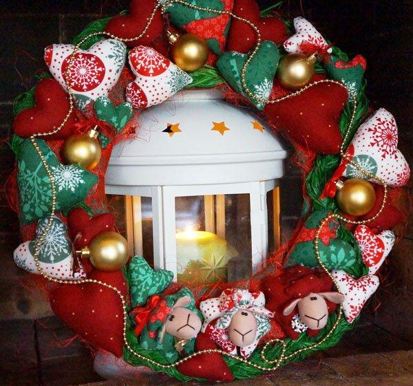 Фото оформления новогоднего стола