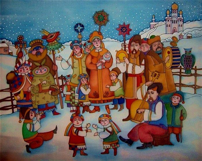 Щедрівки українською мовою