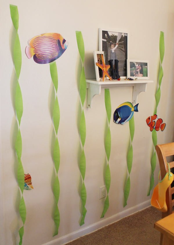 Дитячий День народження дома, прикрашаємо стіни