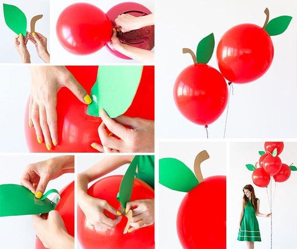 Дитячий День народження дома, оформлення кульок