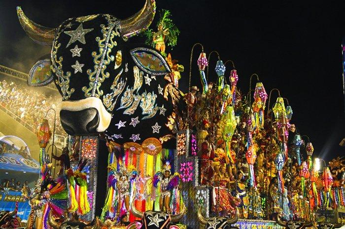Удивительный карнавал в Рио-де-Жанейро, фото 1