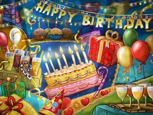 Поздравления с днем рождения на английском друга