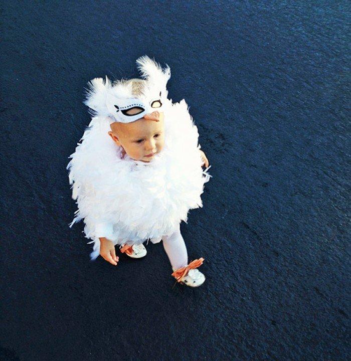 Лебідь - карнавальний костюм своїми руками