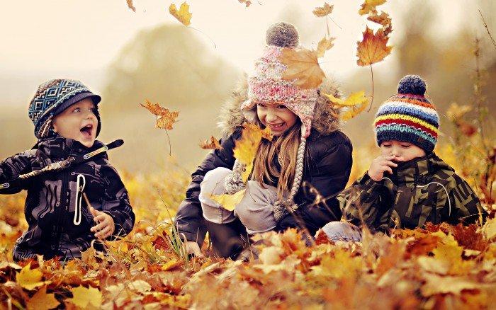Діти осінь