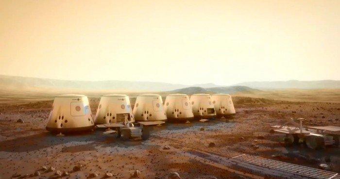 Модуль для проживания на Марсе