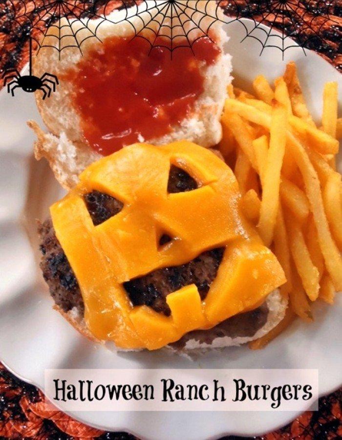 Хэллоуин – праздничные блюда для детей