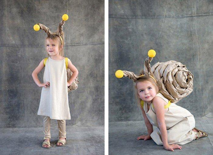 Улитка детский карнавальный костюм для девочки