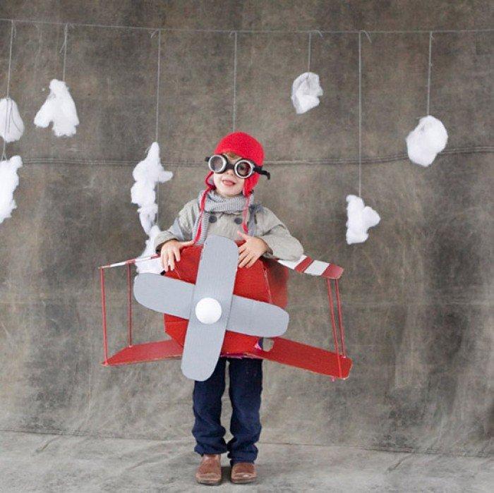 Детские костюми для мальчиков: летчик
