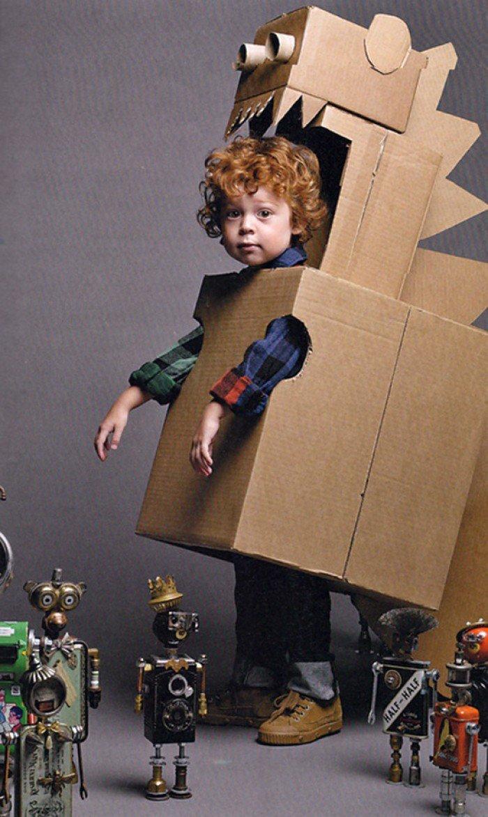 Маскарадный костюм своими руками из подручных материалов