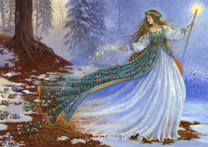 Зима сказочный персонаж