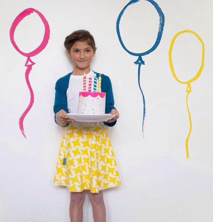Детский День рождения. Фотозона