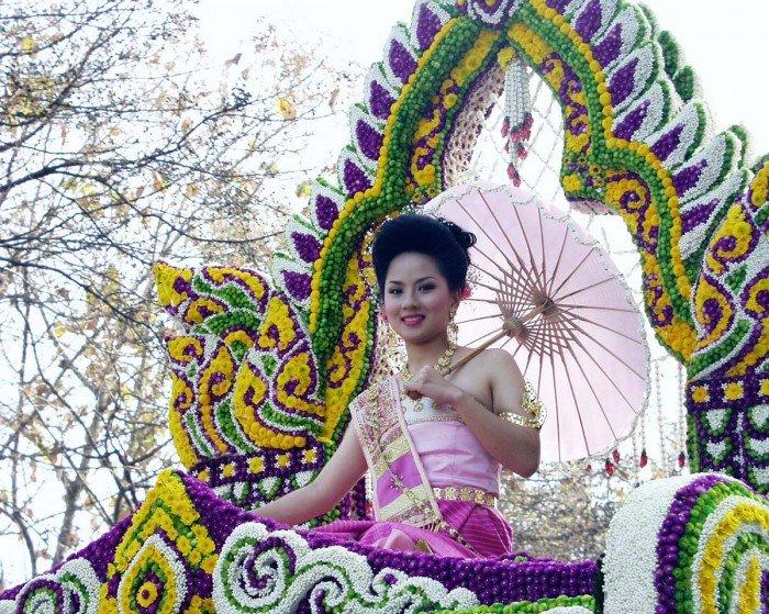 Фестиваль цветов в Таиланде, фото 2