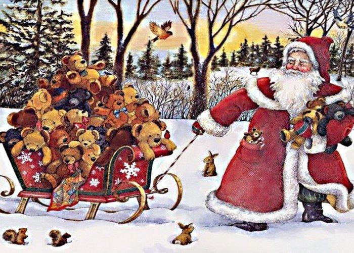 Новогодние праздники. Дед Мороз