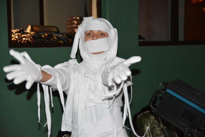Костюмы на Хэллоуин. Мумия