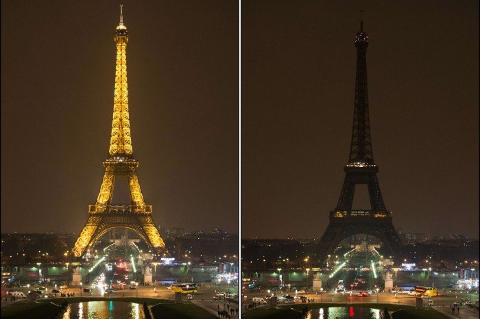 Час Земли. Эйфелева башня