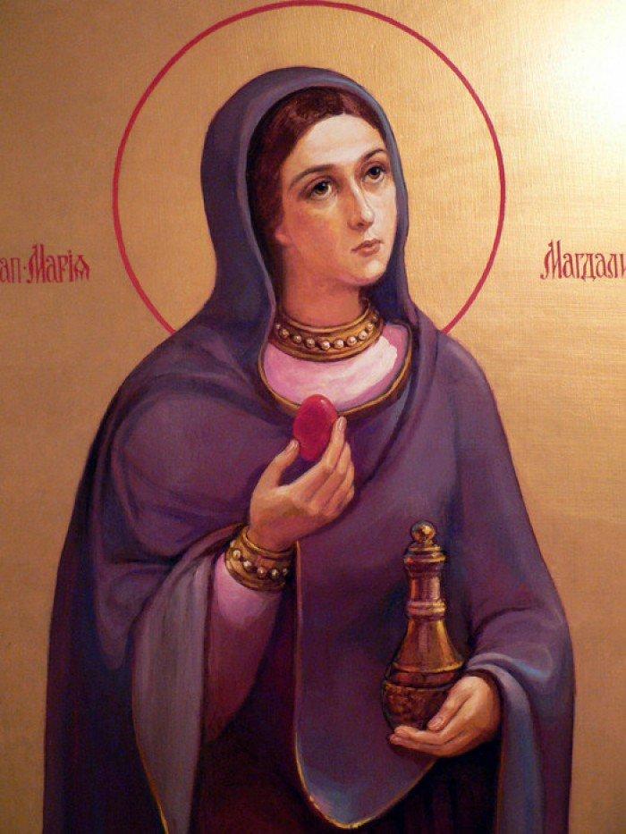 Марія Магдалина, Великдень