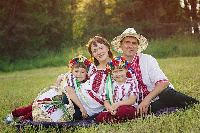 Интересные факты о семье. Украинская семья