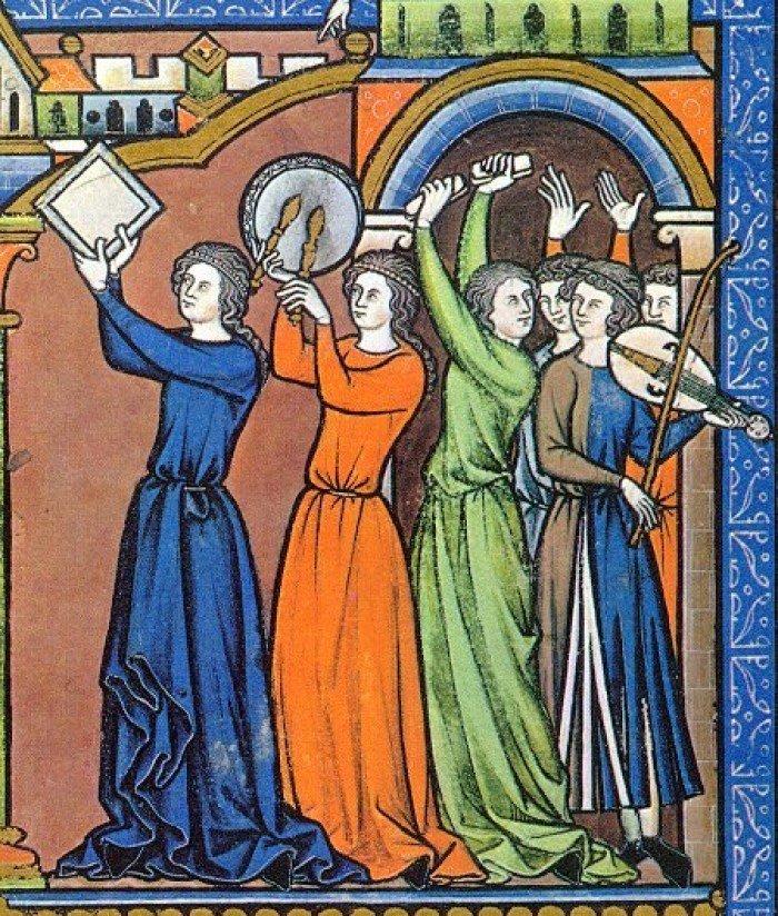Средневековые студенты. Ваганты