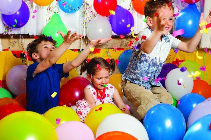 Веселые конкурсы на День рождения. Детский День рождения дома