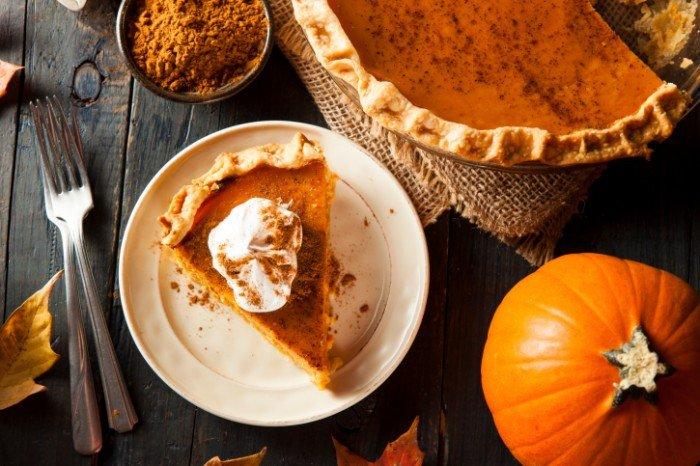 День благодарения. Тыквенный пирог