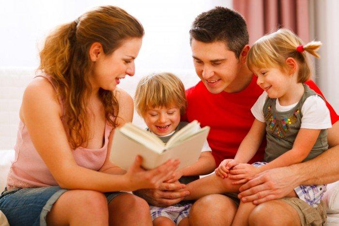 День семьи. Совместное чтение