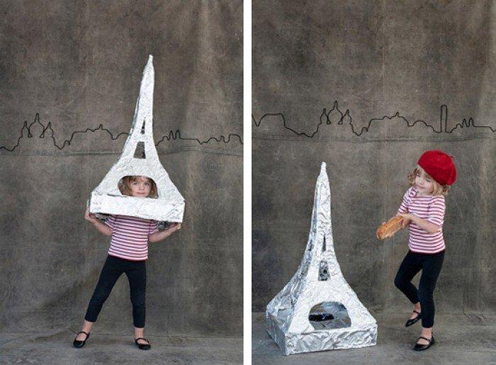 Детские костюмы для девочек: Эйфелева башня