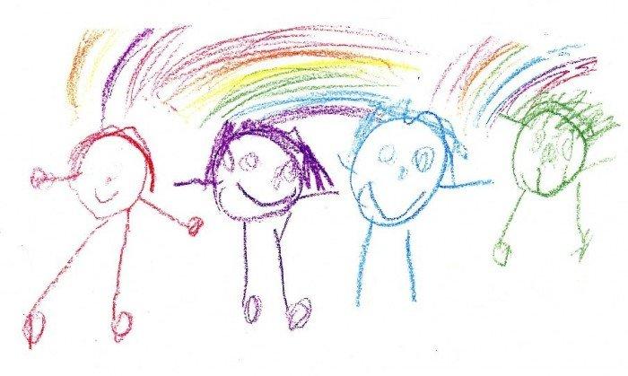 Конкурси на дитячий День народження. Малювання навпаки, веселі художники.