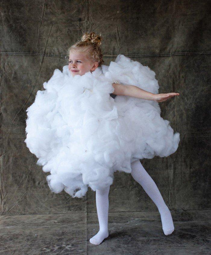 Детский костюм облака