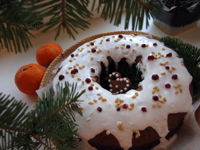 Рождественская кексы рецепт